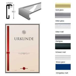 Diplomram av aluminium-växelramen med kvalitet