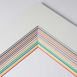 1,7 mm ColorCore passepartout måttbeställd