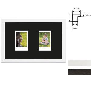 Ram för 2 direktbilder - typ Instax Mini