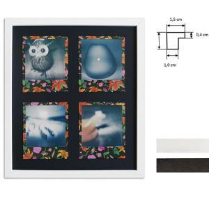 Ram för 4 direktbilder - typ Polaroid 600