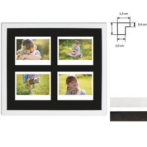 Ram för 4 direktbilder - typ Instax Wide