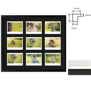 Ram för 9 direktbilder - typ Instax Wide