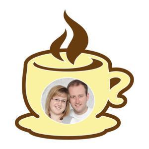 "Motiv-passepartout ""kaffekopp"""