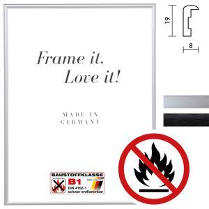 """Certifierad standard B1 brandskyddsram """"Econ rund"""""""