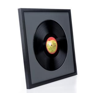 """Träram """"Top Cube"""" för LP-skivor"""