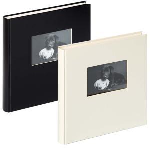 "Fotoalbum ""Charm"" med 60 vita sidor"