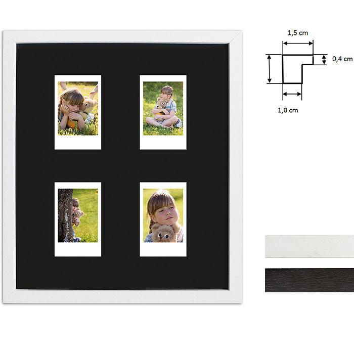 Ram för 4 direktbilder - typ Instax Mini