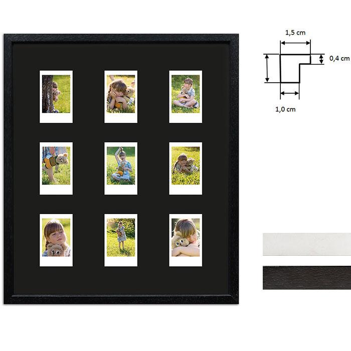 Ram för 9 direktbilder - typ Instax Mini