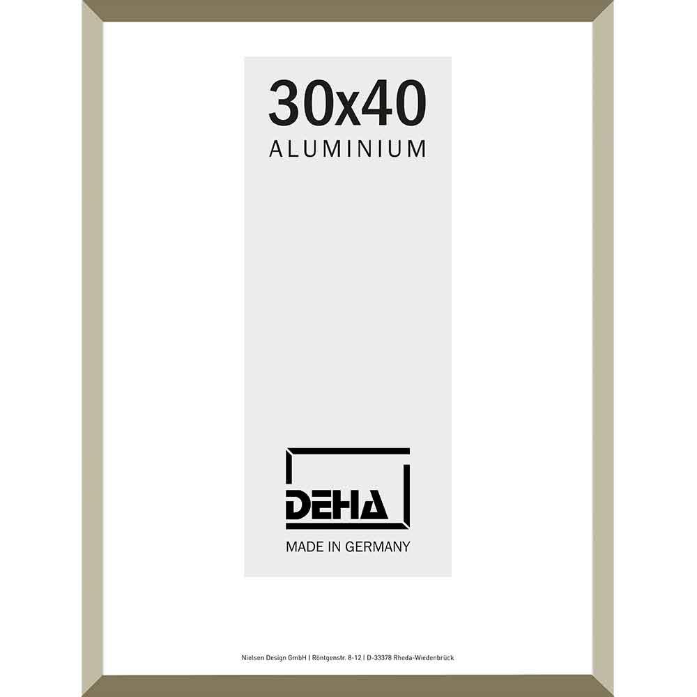 Aluminiumram Wega 70x90 cm   antiksilver   Konstglas