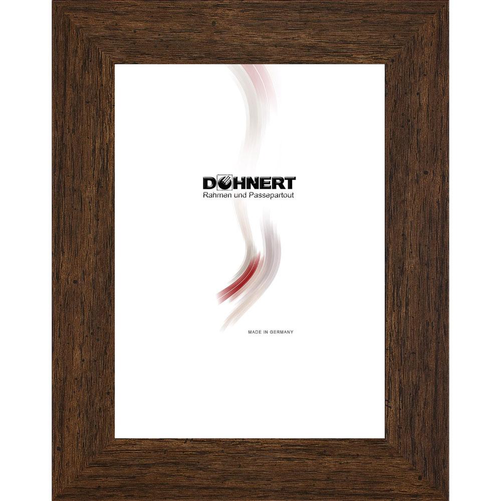 Plastram Aldgate 70x100 cm | mörkbrun | standardt glas
