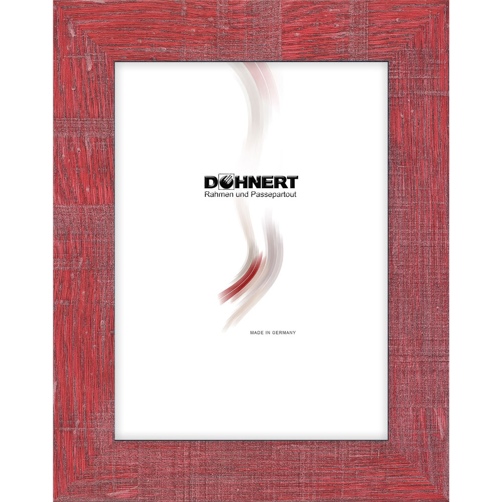 Plastram- måttbeställd Archway röd | standardt glas