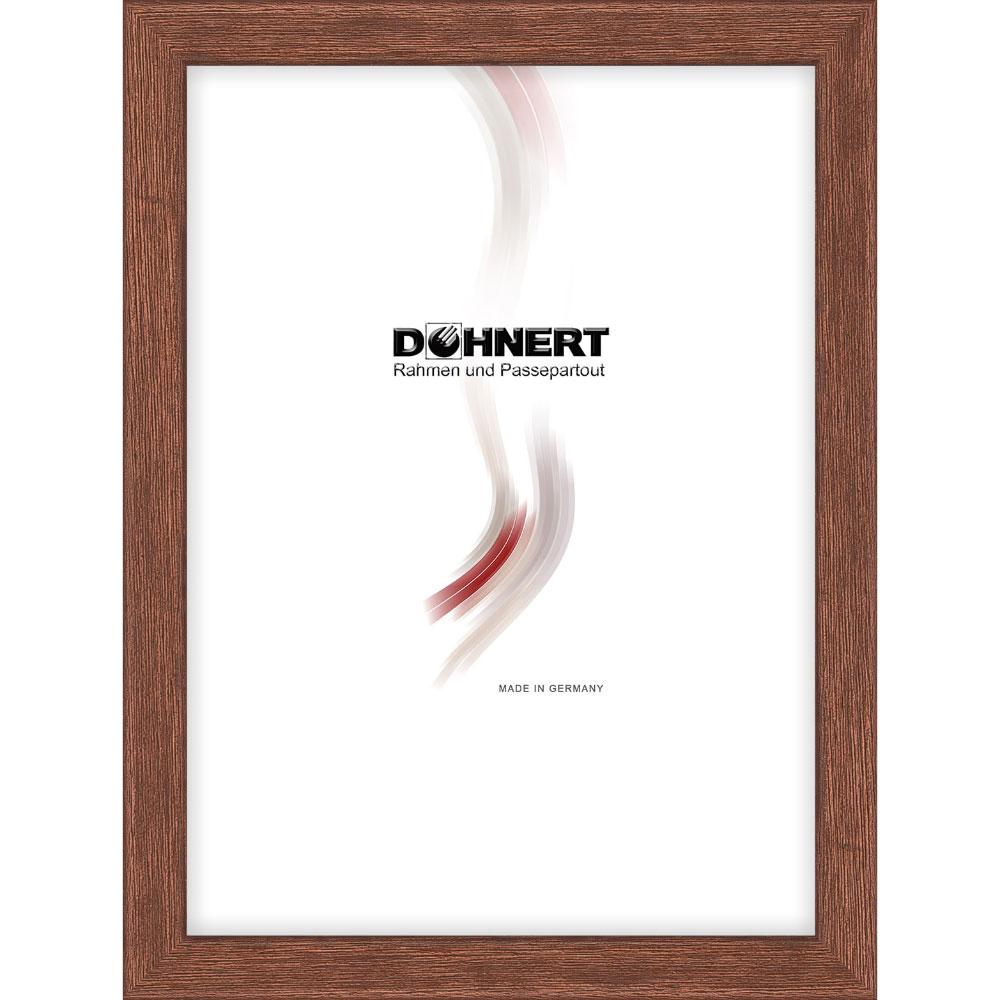 Träram Bermondsey 30x30 cm | brun | standardt glas