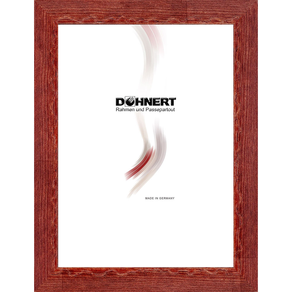 Träram- måttbeställd Dagenham Heathway Brombeerrot | standardt glas