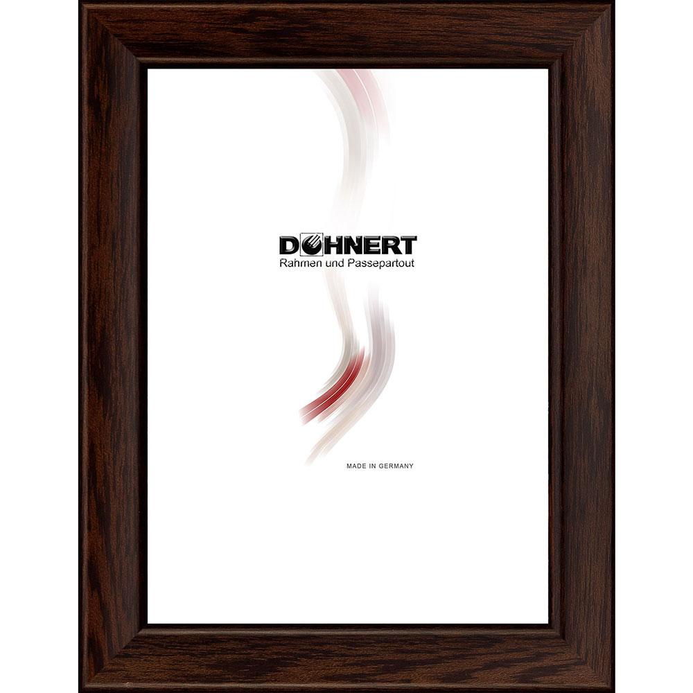 Träram Binfield 40x50 cm   mörkbrun   Konstglas