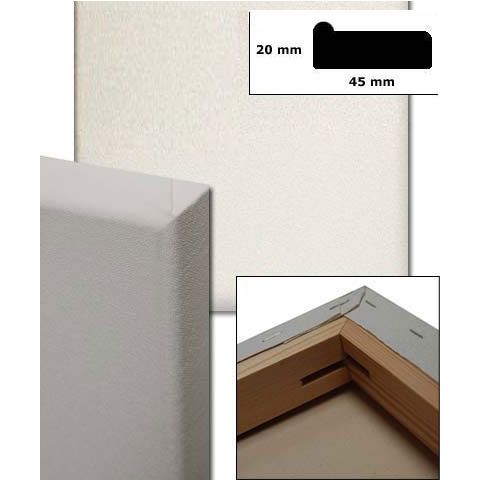 Spänd kilram, profil 4,5x1,9 cm måttbeställd