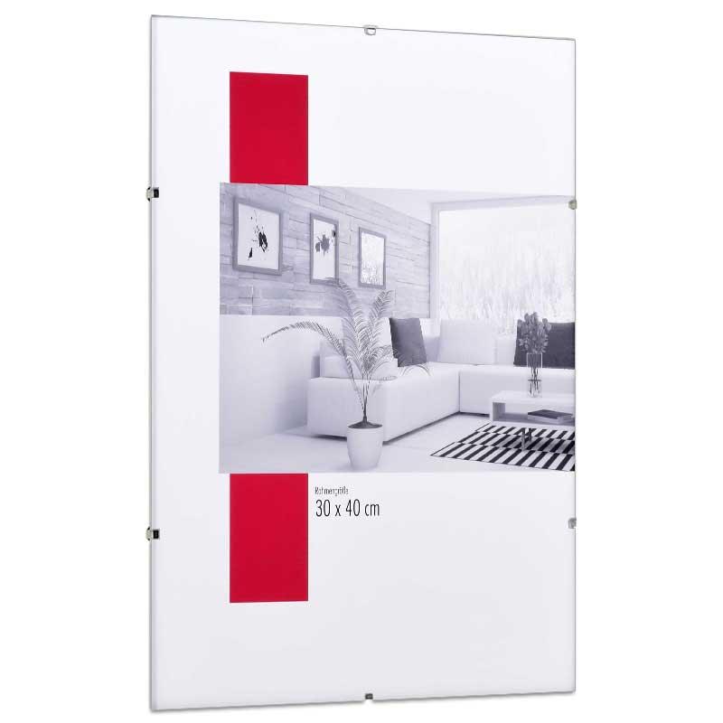 Clipsram 13x18 cm | standardt glas