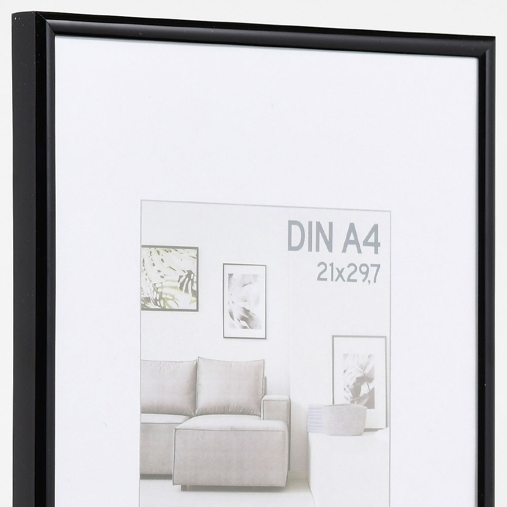 Plastram Elements 40x50 cm | svart | standardt glas