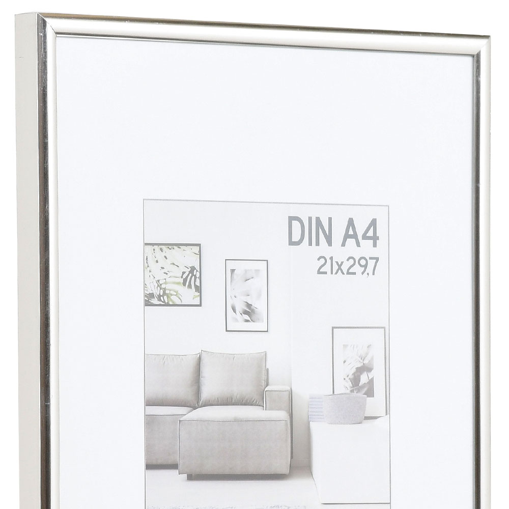 Plastram Elements 40x50 cm | silver | standardt glas