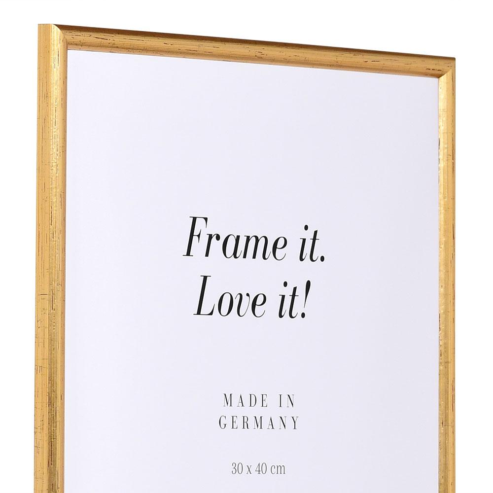 Träram Avignon 20x20 cm | guld | standardt glas