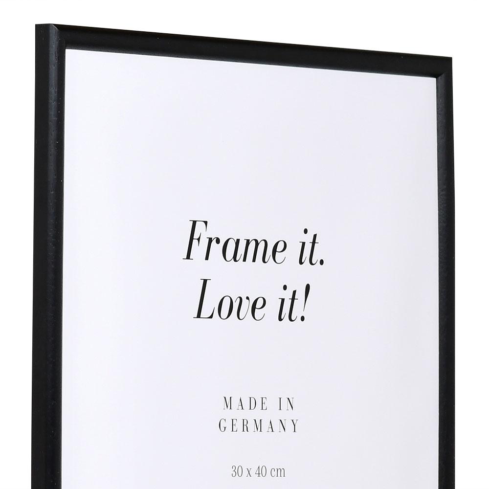 Träram Avignon 28x35 cm | svart | standardt glas