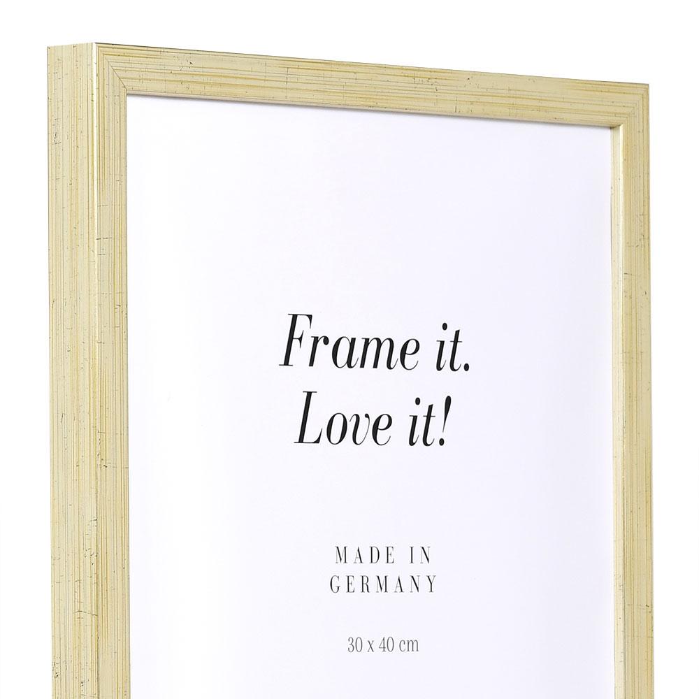 Träram Figari 21x29,7 cm (A4) | antiksilver | standardt glas