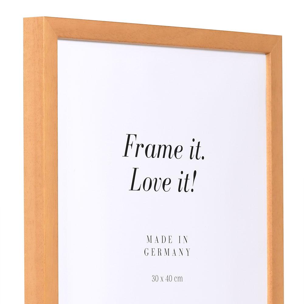 Träram Figari 21x29,7 cm (A4)   brun   standardt glas
