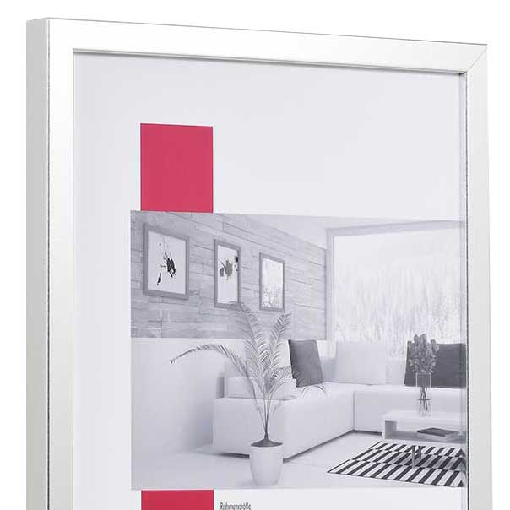 Träram Figari 29,7x42 cm (A3) | silver | standardt glas