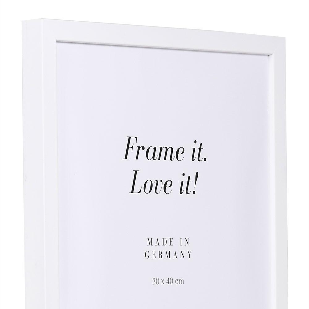 Träram Figari 21x29,7 cm (A4) | vit | standardt glas