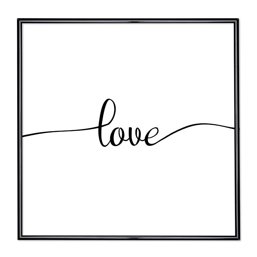 Bildram med ordstäv - Love 1