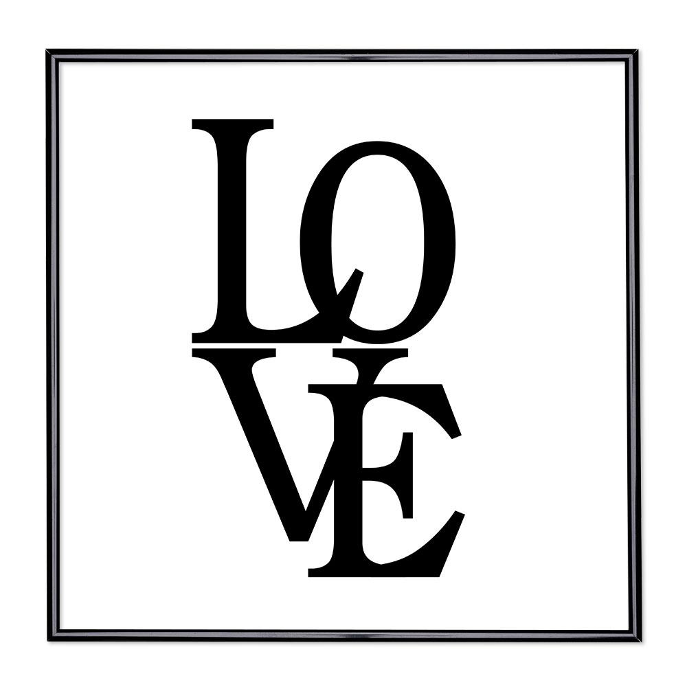 Bildram med ordstäv - Love 2