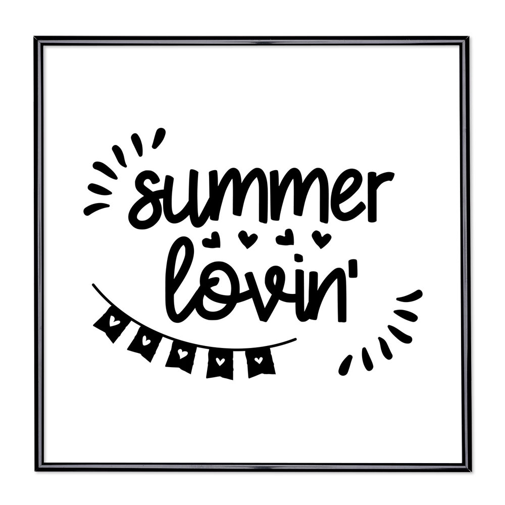 Bildram med ordstäv - Summer Lovin