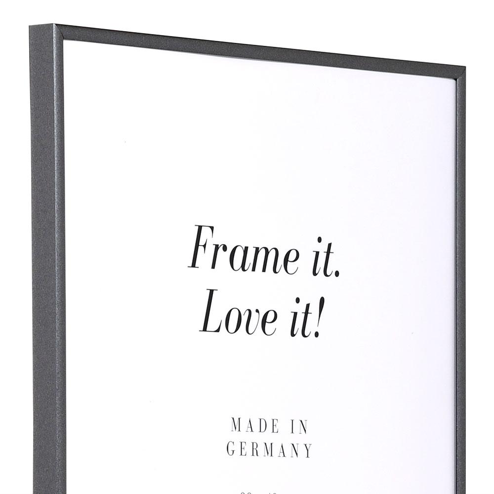Plastram ART 50x50 cm | antracit | standardt glas