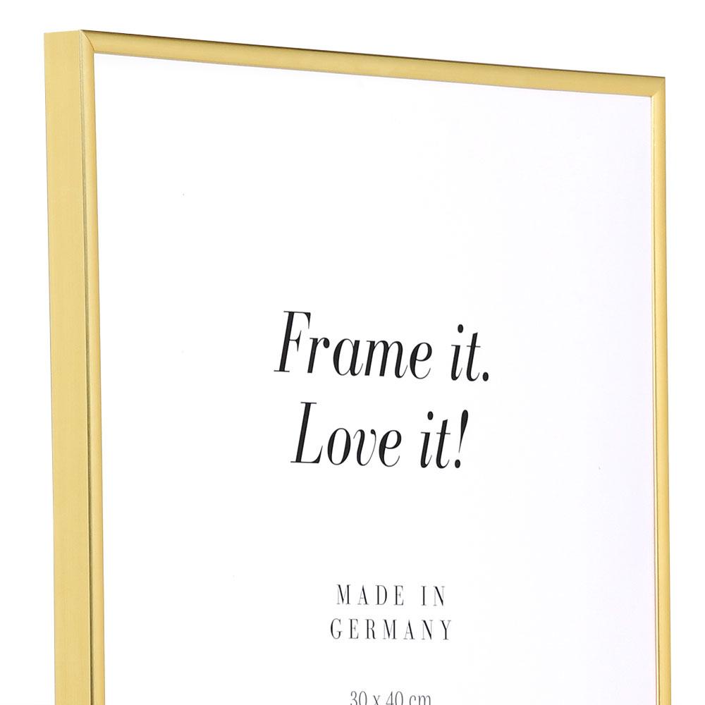 Plastram ART 50x70 cm   guld   standardt glas