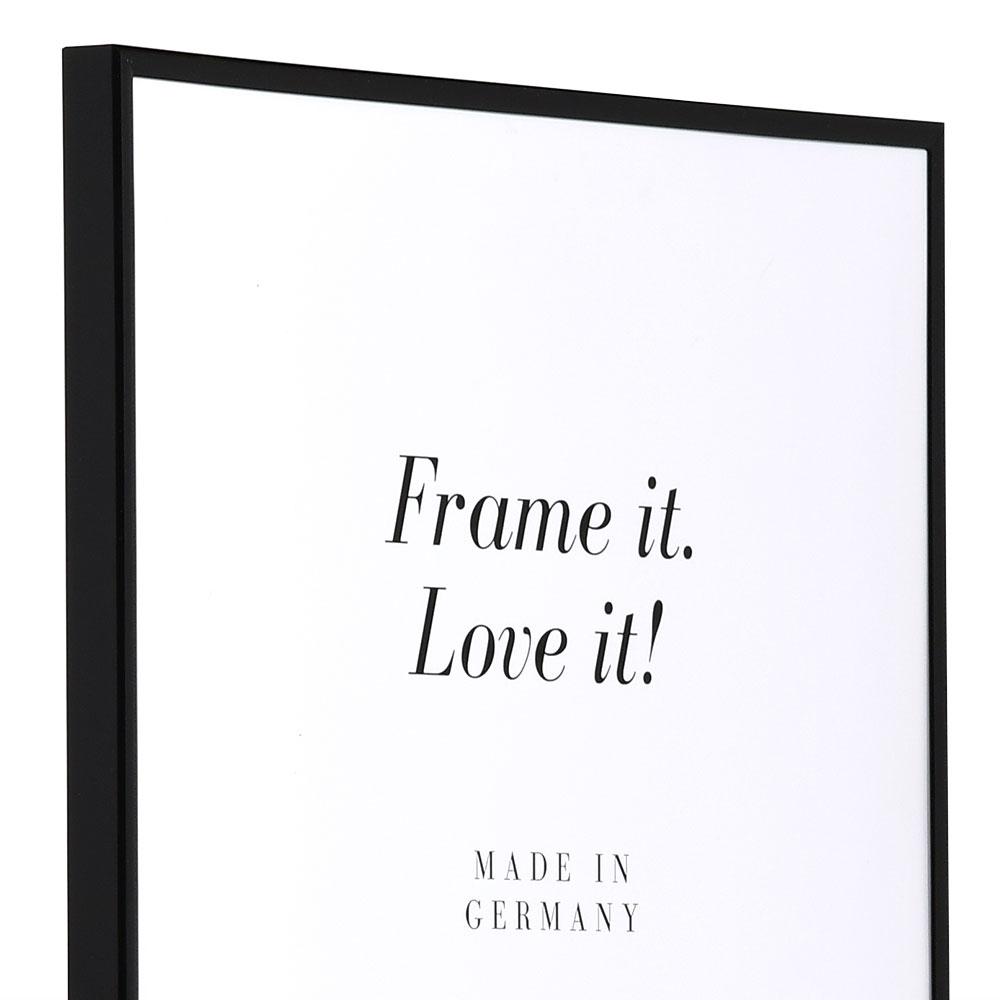 Plastram ART 50x70 cm | svart | standardt glas