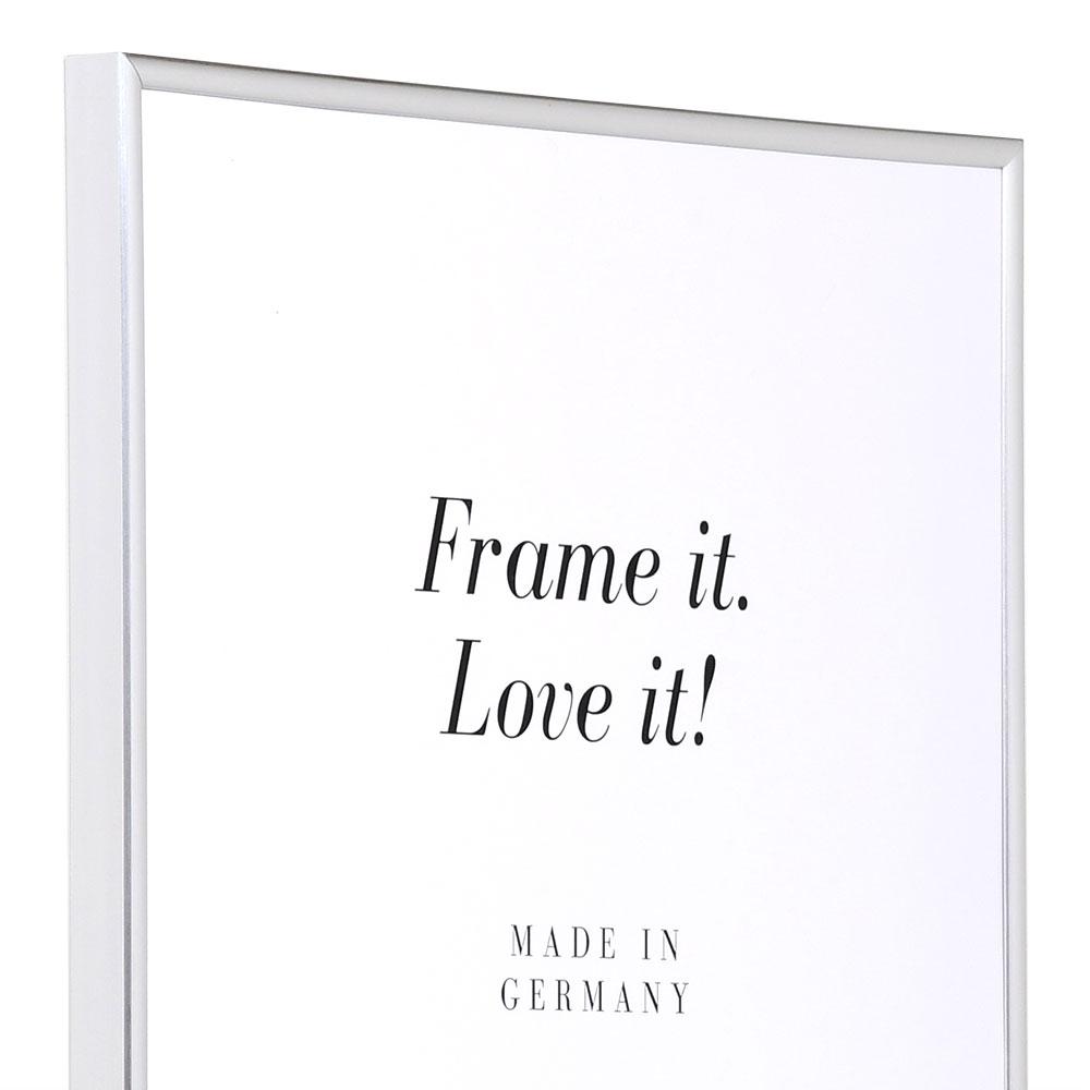 Plastram ART 21x29,7 cm (A4) | silver | standardt glas