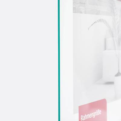Antireflexglas - antireflekterande glas för ram