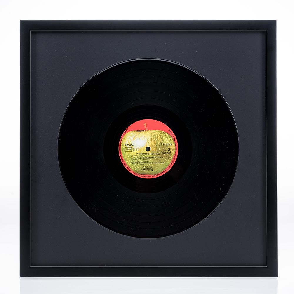 """Träram """"Figari"""" för LP-skivor"""