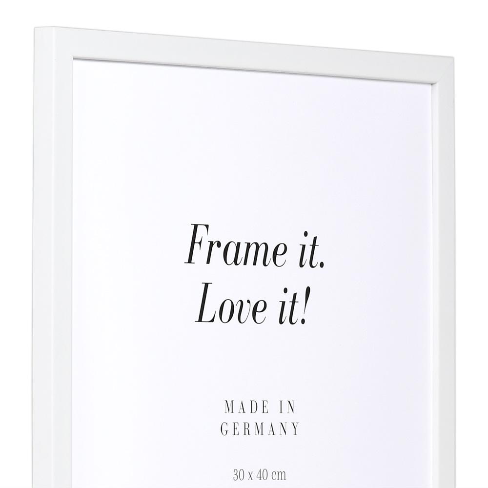 Träram Top Pro S 20x30 cm | vit | standardt glas