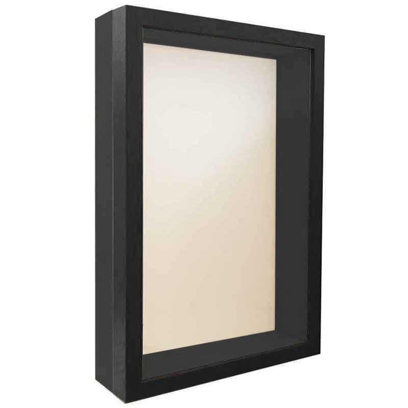 Unibox Bildram 15x20 cm   schwarz-schwarz   standardt glas
