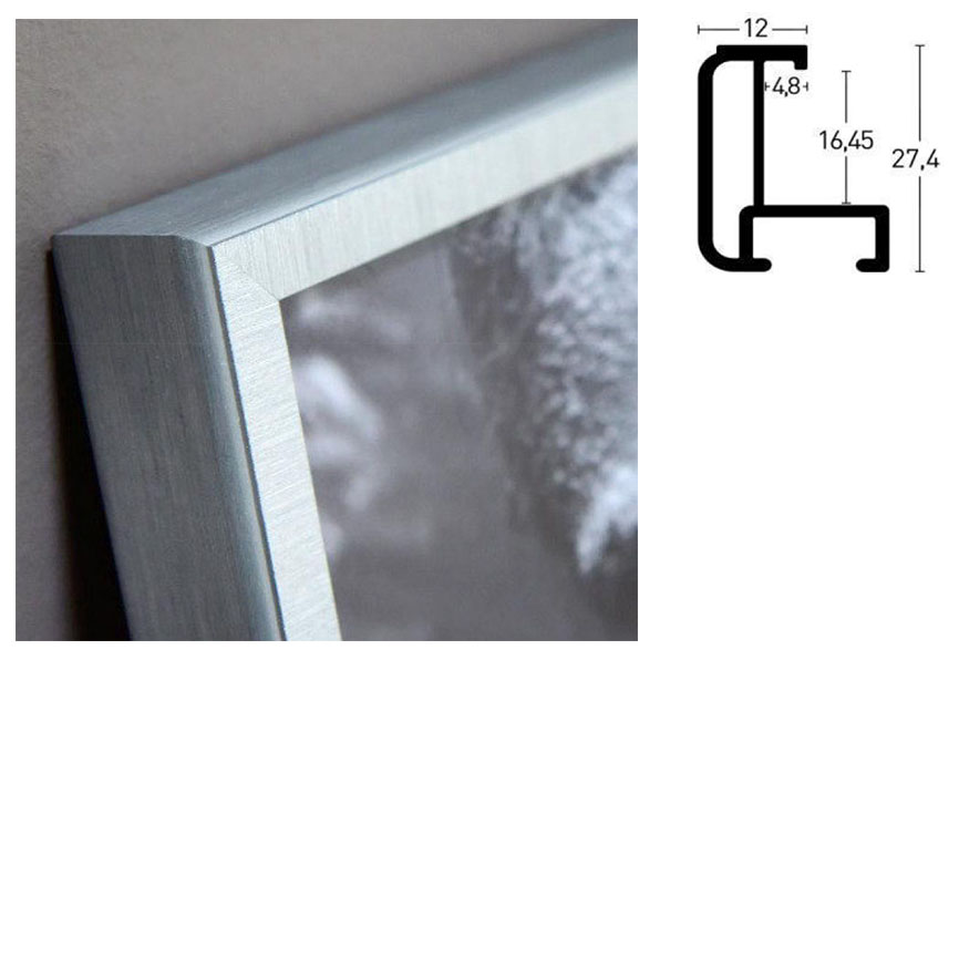 Aluminiumram måttbeställd, profil 179
