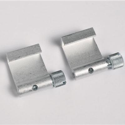 2 stycken bildhängare av aluminium max. Tragkraft 5 kg