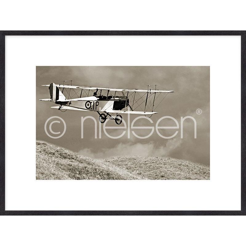 "Inramad bild ""Historic Plane"" med träram Quadrum"