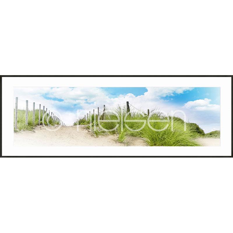 "Inramad bild ""Dune"" med aluminiumram C2"