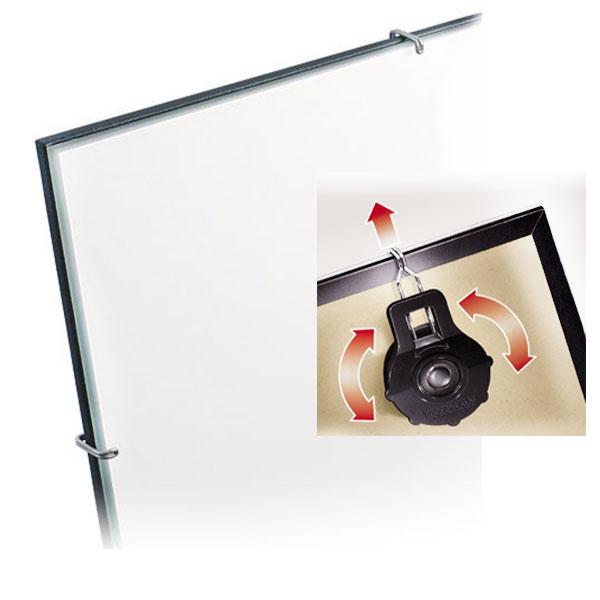 Växelbildshållare, ramlös 21x29,7 cm (A4) | standardt glas
