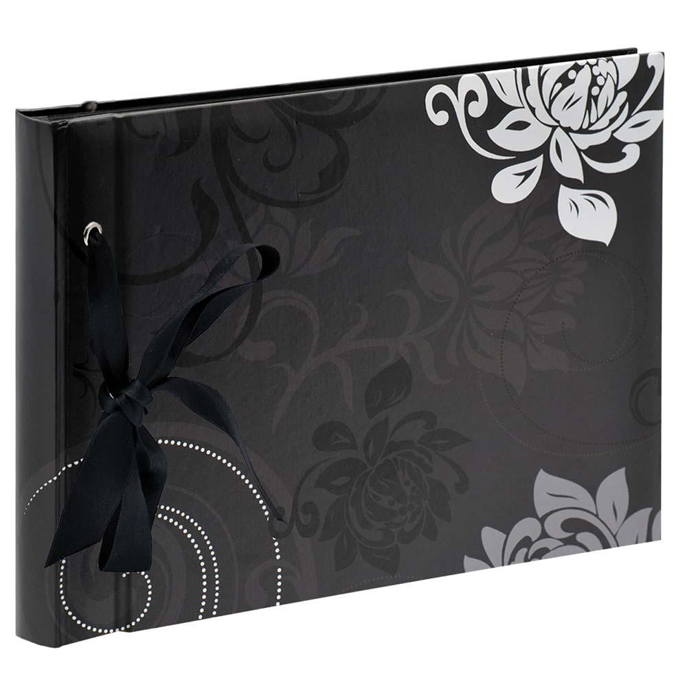 "Fotoalbum ""Grindy"" för limning, 23,5x16 cm 23,5x16 cm   svart"