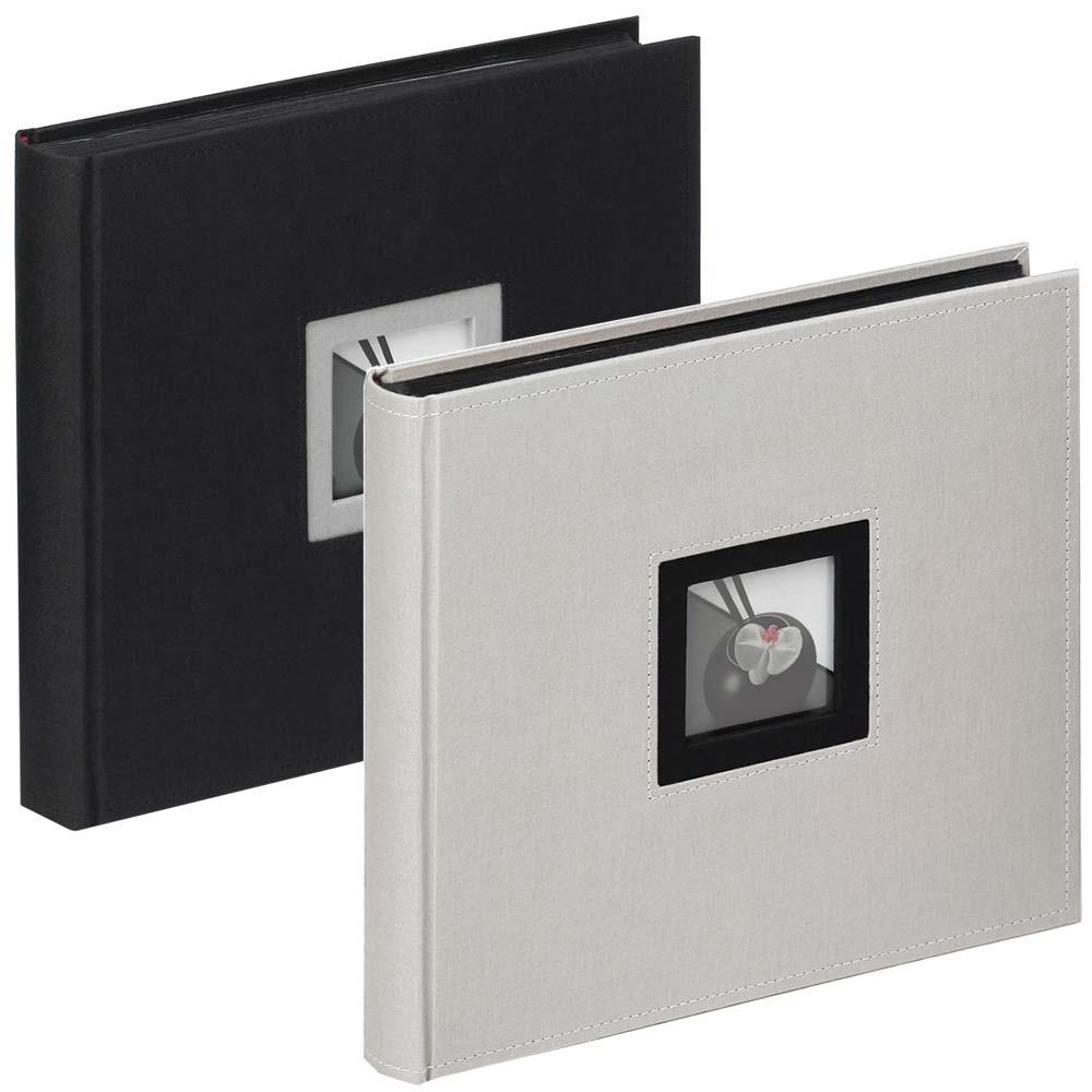 "Fotoalbum ""Black & White"" för limning, 26x25 cm"