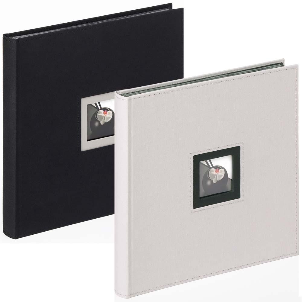 "Fotoalbum ""Black & White"" för limning, 30x30 cm"