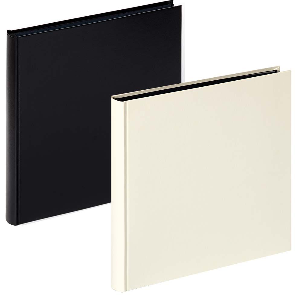 "Fotoalbum ""Charm"" med 60 svarta sidor"