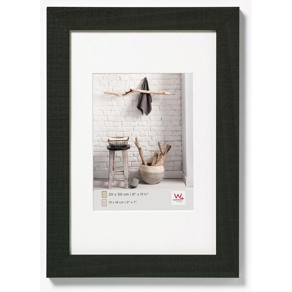 Träram Home 18x24 cm | svart | standardt glas