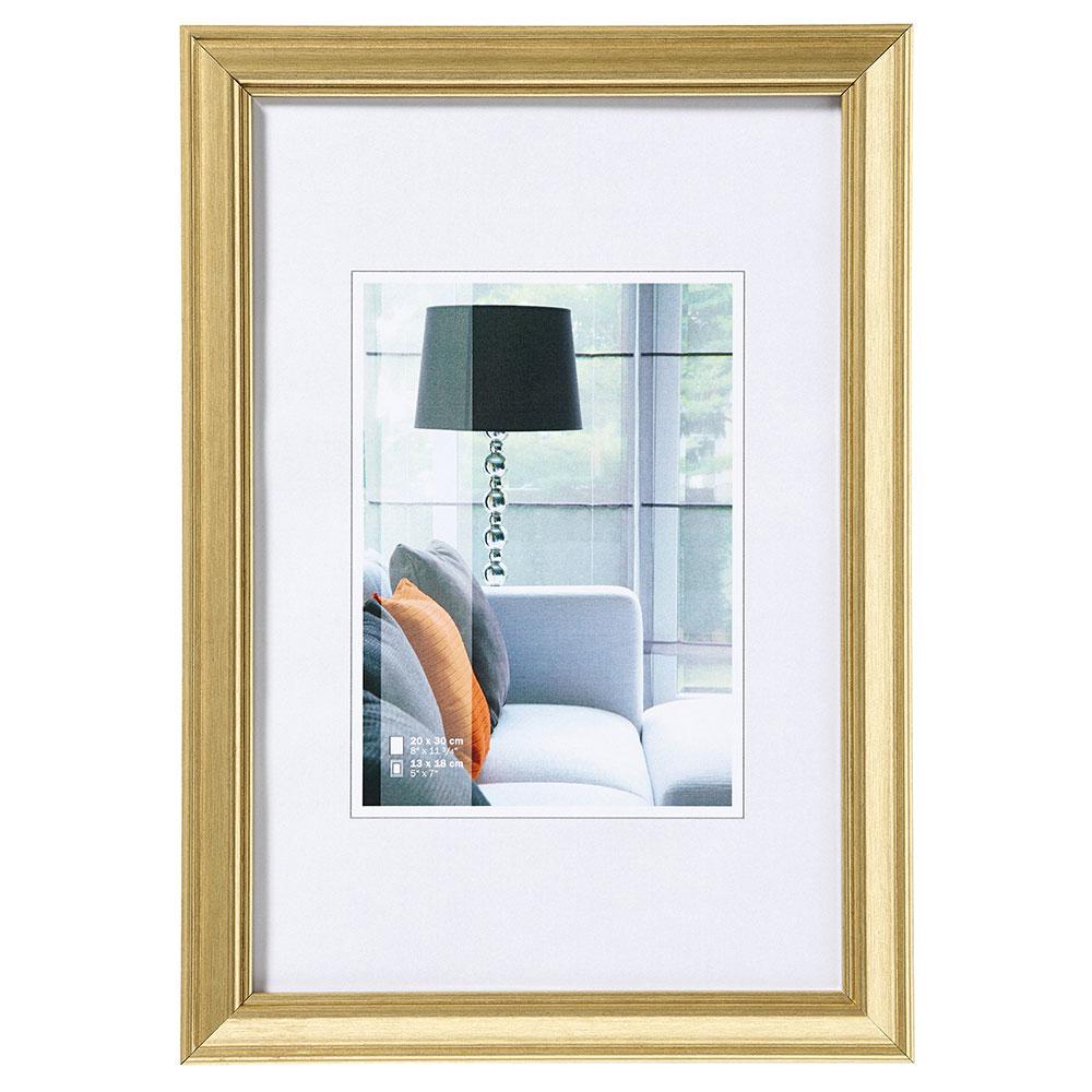 Plastram Lounge 15x20 cm | guld | standardt glas